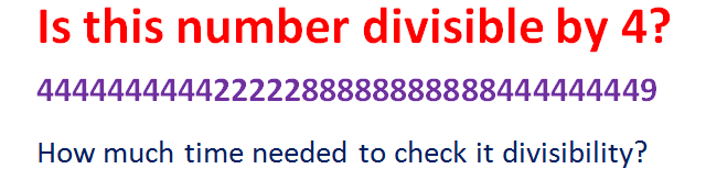 HOW TO CHECK THE DIVISIBILITY OF A NUMBER
