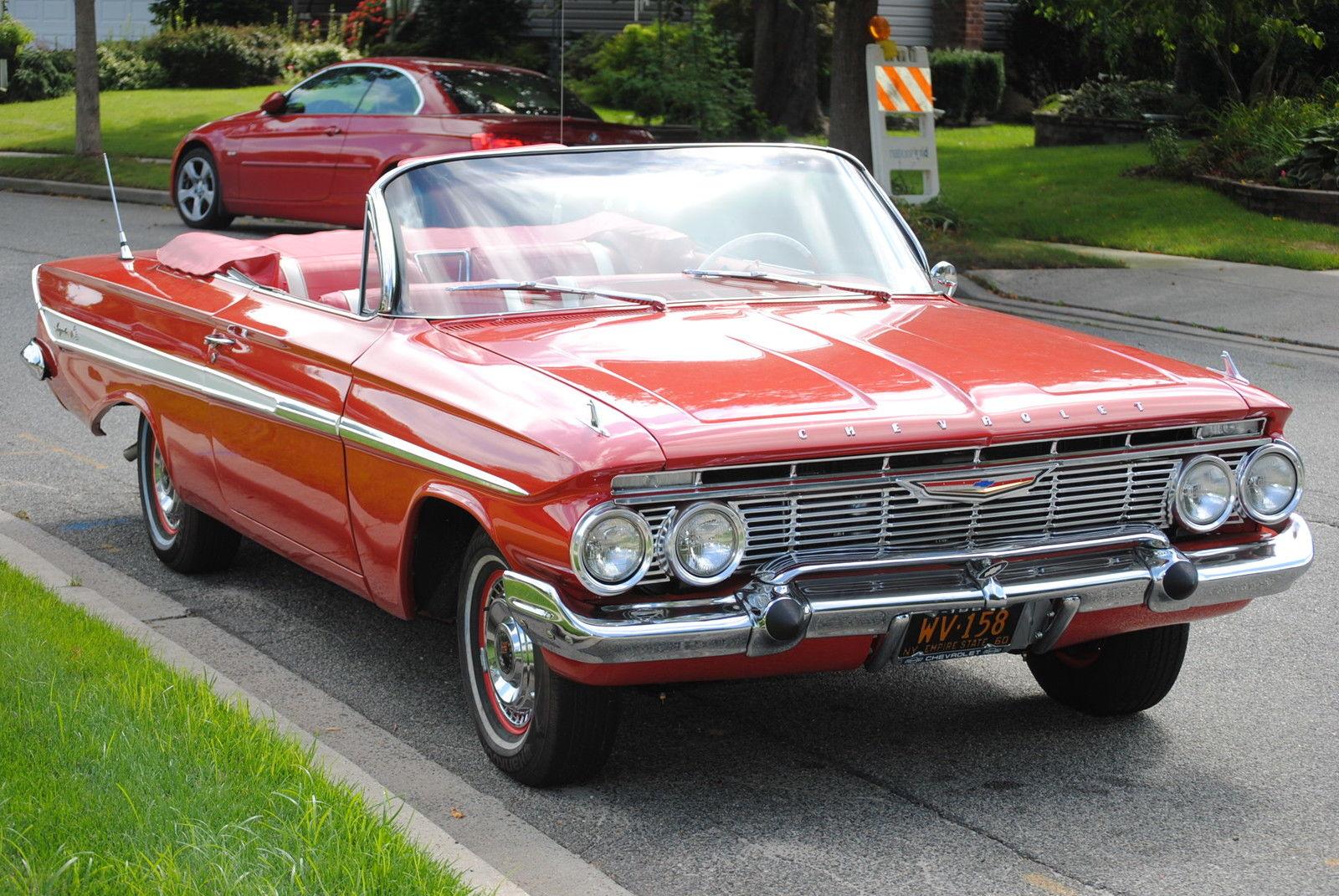 all american classic cars 1961 chevrolet impala 2 door. Black Bedroom Furniture Sets. Home Design Ideas