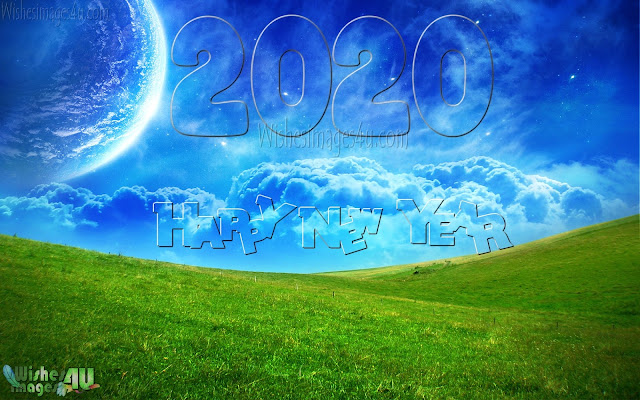 Happy New Year 2020 1080p Nature Background Pictures