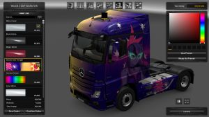 MP4 My Little Pony Sunset n Twilight Skin