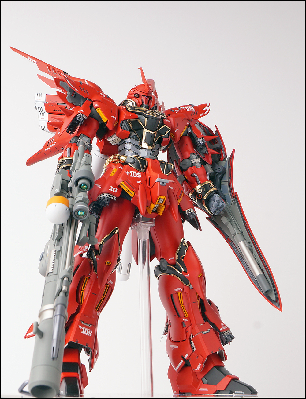 GUNDAM GUY: MG 1/100 Sinanju - Customized Build