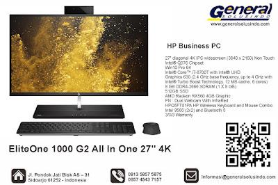 "HP ProDisplay P224 Monitor 21.5"" EliteOne 1000 G2 All In One 27"" 4K"