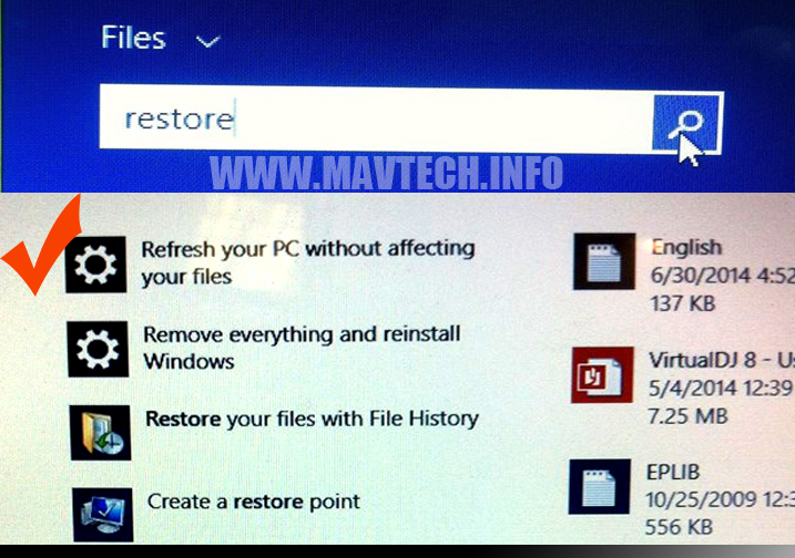 Tutorial: How To Reset/Refresh Windows 8 on PC or Laptop