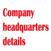 Bridgestone Headquarters Contact Number, Address, Email Id