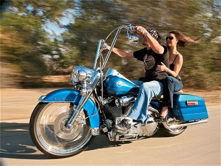 dating a motorcycle guy