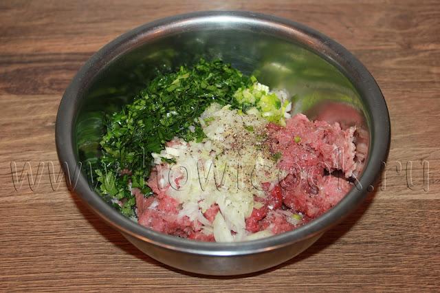 рецепт люля-кебаба из духовки с пошаговыми фото