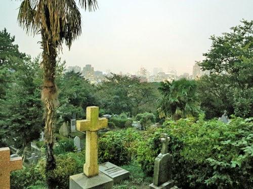 Yokohama Foreign General Cemetery, Kanagawa Prefecture.