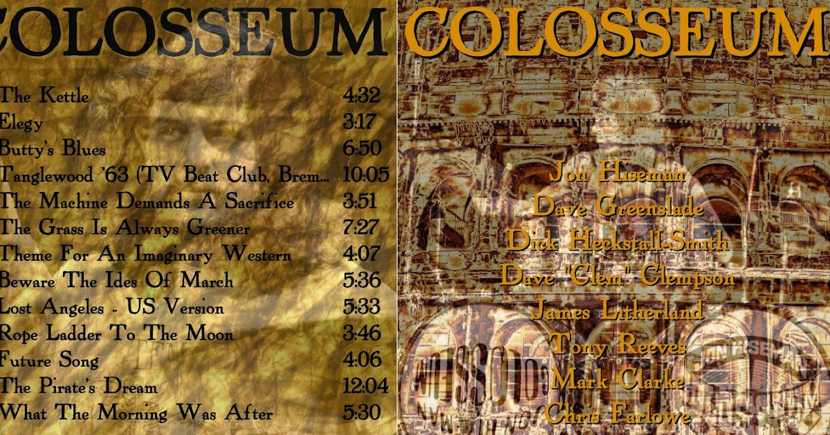 Schnickschnack Mixmax: Colosseum - In The Studio