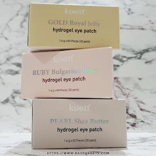 Review Koelf Petitfee Hydro Gel Eye Patch