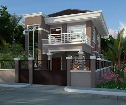 Gambar Rumah Minimalis 2 Lantai Modern