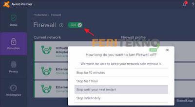cara mematikan windows firewall dengan mudah 13
