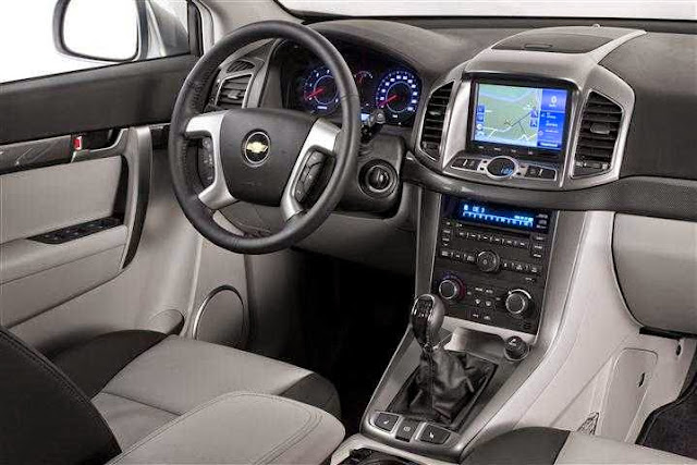 Interior Dashboard All New Chevrolet Captiva