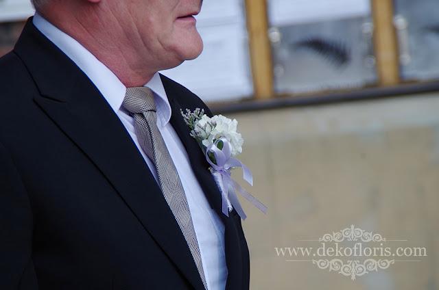butonierki dla ojców Młodej Pary ślub Nysa opolskie