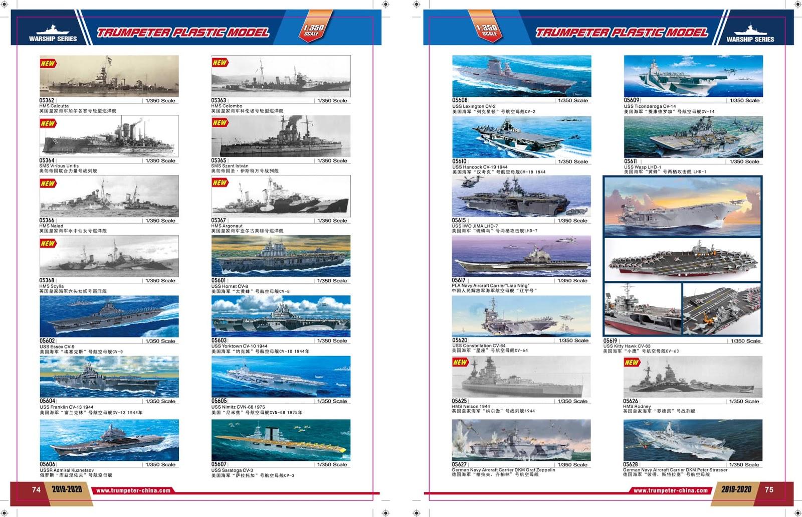 Trumpeter Katalog 2019-2020