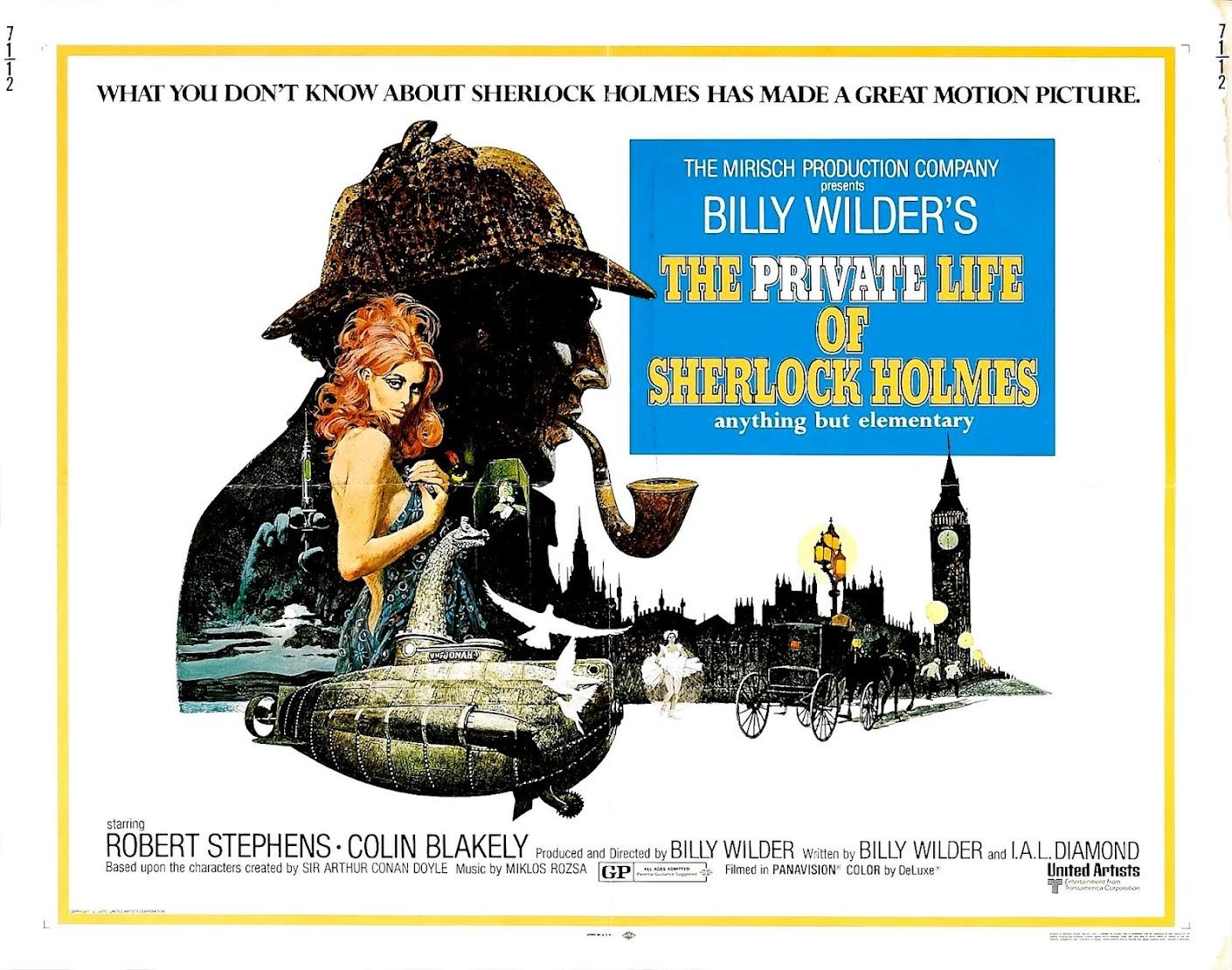 La vie privée de Sherlock Holmes (1969) Billy Wilder - The private life of Sherlock Holmes
