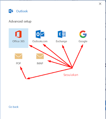 cara login email di outlook