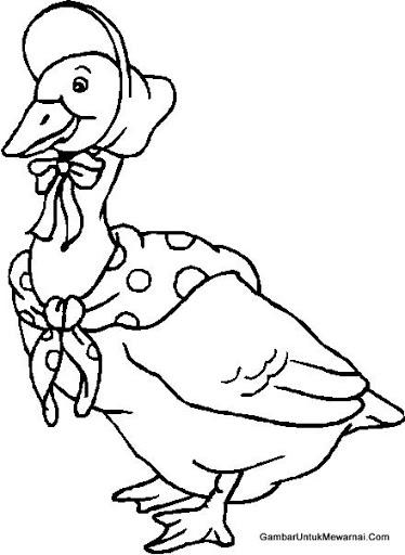 Mewarnai Ayam untuk Anak Paud