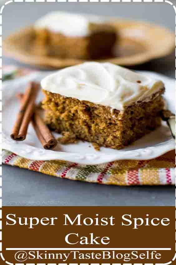 4.7 | ★★★★★ Homemade and super moist spice cake with tangy cream cheese frosting. Such an easy recipe packed with TONS of flavor!#MoistSpice #Cake #Homemade #easyrecipe