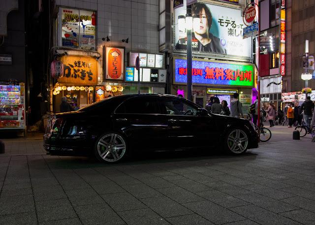 UZS18 UZS186 Toyota Majesta in Shinjuku Tokyo