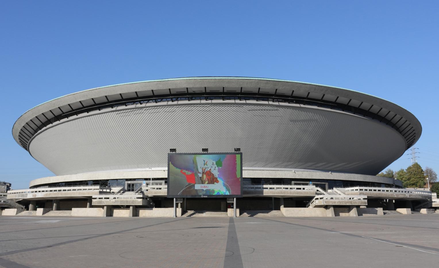 Polonya Spodek Arena