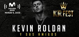 Concierto de KEVIN ROLDAN y amigos en Bogotá 2020