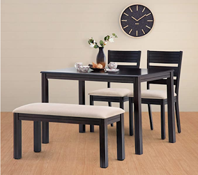 Home Centre Montoya 4 Seater Dining Table for Small Families to Enjoy Meal Together