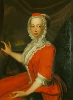Portrait of Anne, Princess Royal and Princess of Orange by Bernard Accama, 1736
