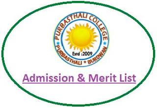 Purbasthali College Merit List