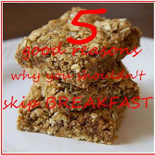 why you shouldn't skip breakfast