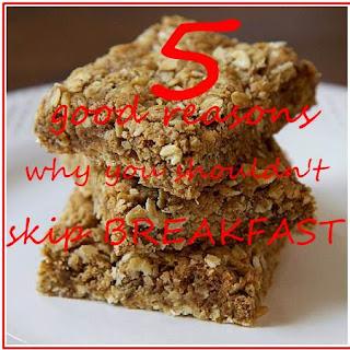 why you shouldn't skip breakfast