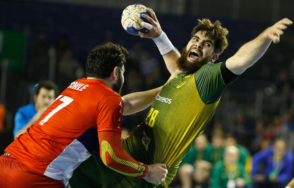 Chile-Brasil | Handball