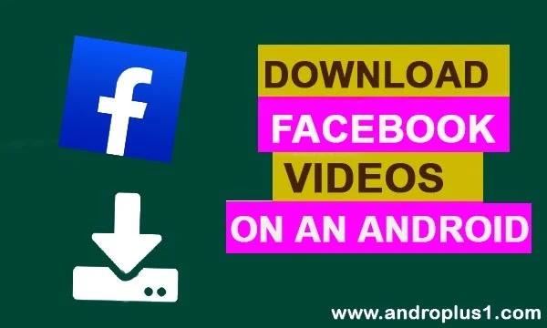 تحميل فيس بوك فيديو