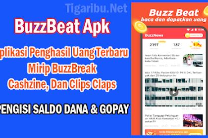 BuzzBeat Apk, Aplikasi Penghasil Uang Terbaru Mirip BuzzBreak, Cashzine, Dan Clips Claps