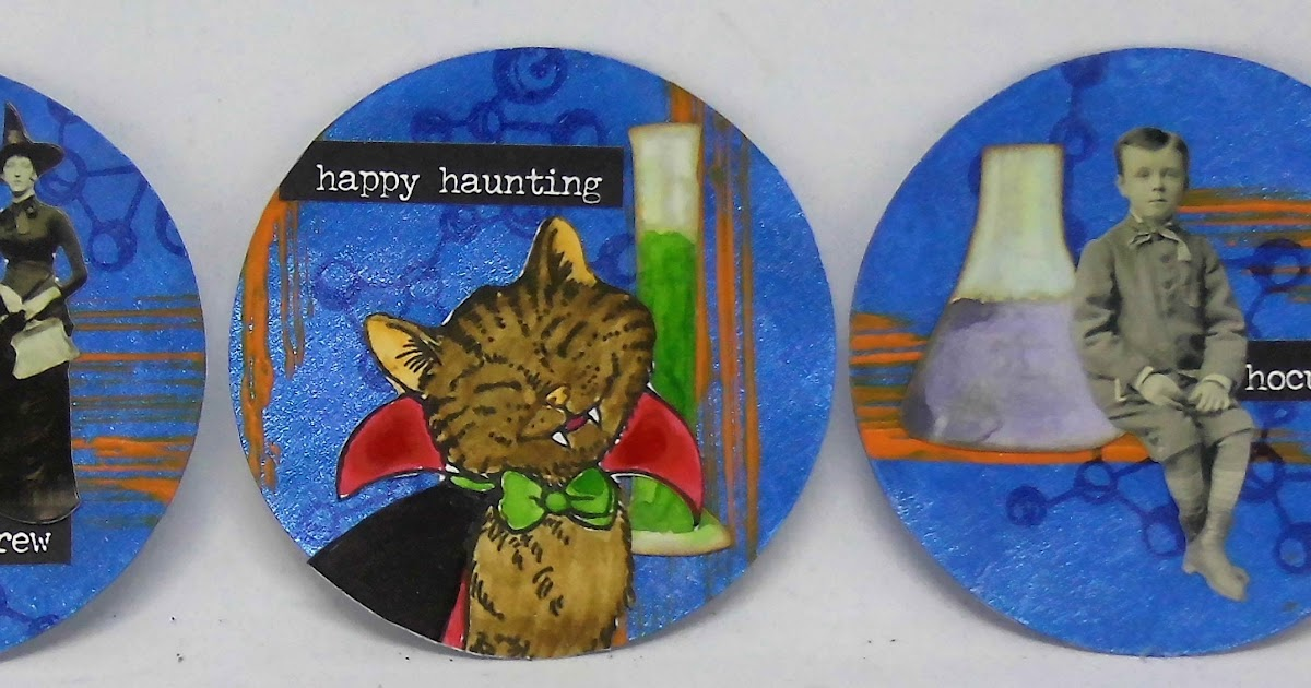 Count Catula Stampendous Wood Stamp