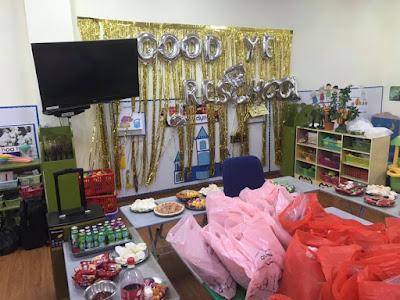 Shop Babystyle trang trí và tổ chức buổi tổng kết năm học