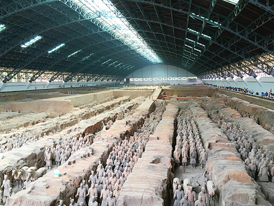 Terracotta Warriors in Xi'an China