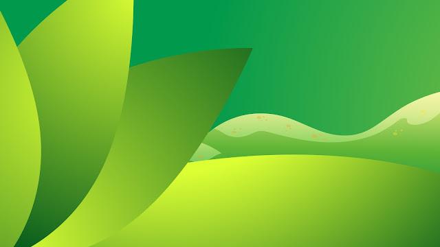 abstrak hijau