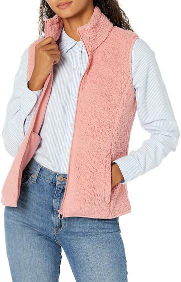 Best Pink Faux Fur Vests For Women