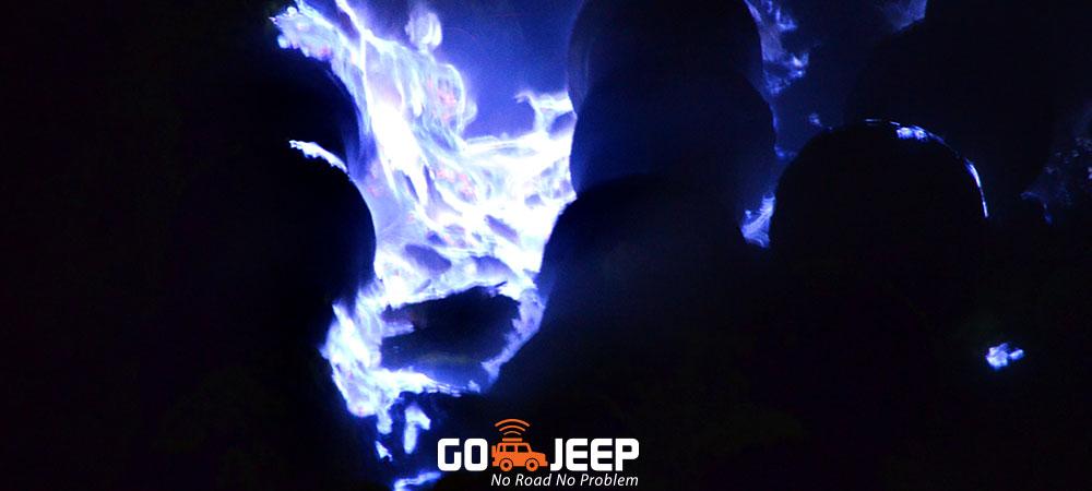 open trip blue fire ijen crater banyuwangi