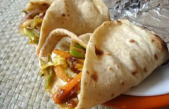 Kathi roll recipe | How to make veg kathi roll at home