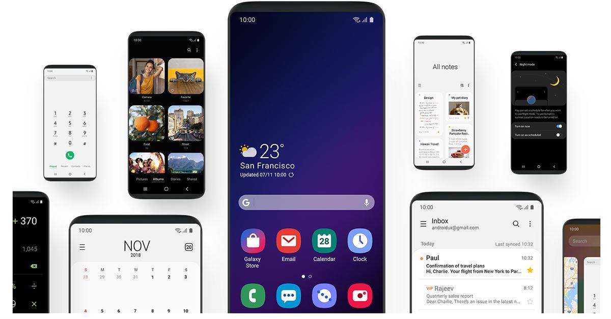 Questa è la nuova Samsung One UI 3.0