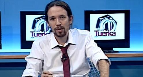 Pablo Iglesias en La Tuerka