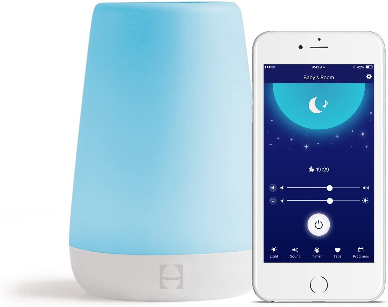 Best Baby Rest Sound Machine, Night Light and Time-to-Rise 2021