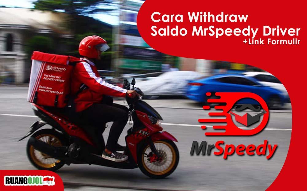 Gambar driver MrSpeedy
