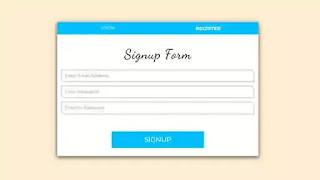 Login and Registration Form