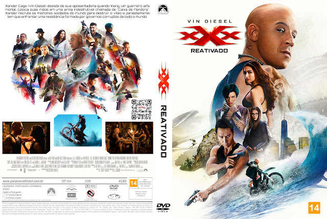 Capa DVD xXx Reativado [Exclusiva]