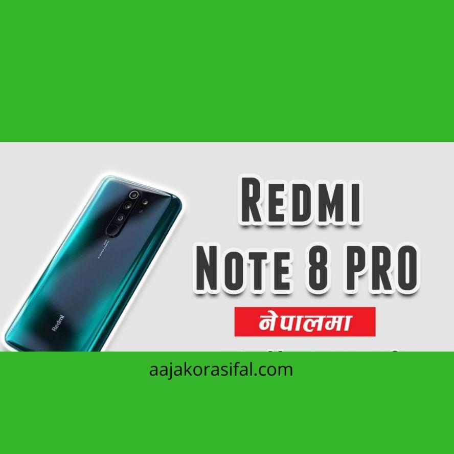 Xiaomi Redmi Note 8 Pro Price In Nepal