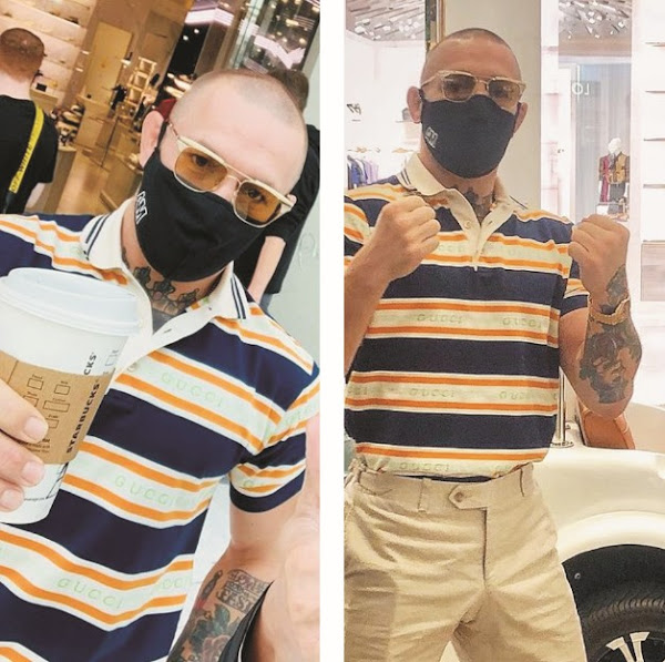 Conor McGregor spotted in Dubai shopping with his family - News
