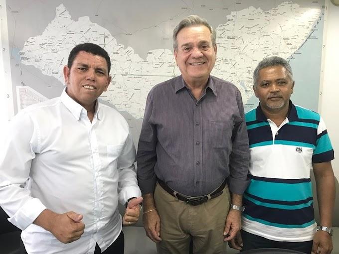 Ao lado de Cazuza, Daniel Marques é escolhido por Lessa para presidir o PDT em Delmiro Gouveia
