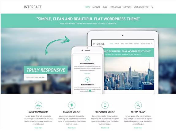 interface-free-wordpress-themes